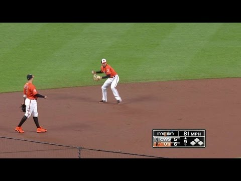 CWS@BAL: O'Day retires Melky to earn the save