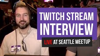 Paul Velocity Interview at the May 2019 Community Meetup Seattle Online Broadcasters Association