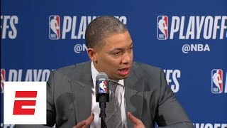 Tyronn Lue a fan of Lance Stephenson's physicality in Game 4 | ESPN