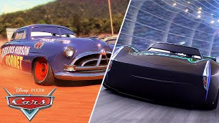 Next Generation Racers vs. Veteran Legends! | Pixar Cars