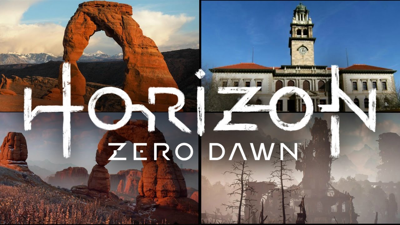 Horizon Zero Dawn Real World Locations Youtube
