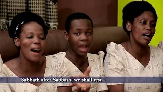 Hapo Mwanzo (official Video) by Zabron Singers