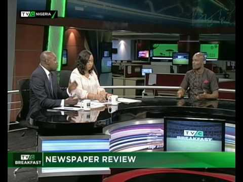 TVC Breakfast 21st July 2017 |  Newspaper Review with Charles Ideho