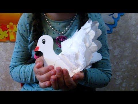 Шаблон голубь мира своими руками из бумаги к 9 мая шаблон