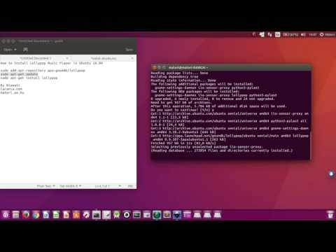 How to Install Lollypop Music Player in Ubuntu 16.04