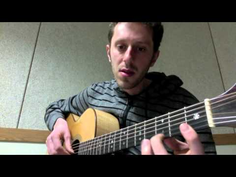 Middle Eastern music on guitar: Huseyni and Bayati scales