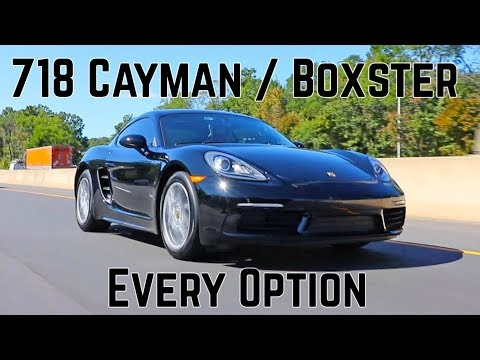 Porsche 718 Cayman / Boxster Options - Configurator