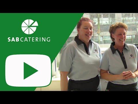 SAB Catering - Serenade cateringteam SAB tijdens DWVDC (2014)