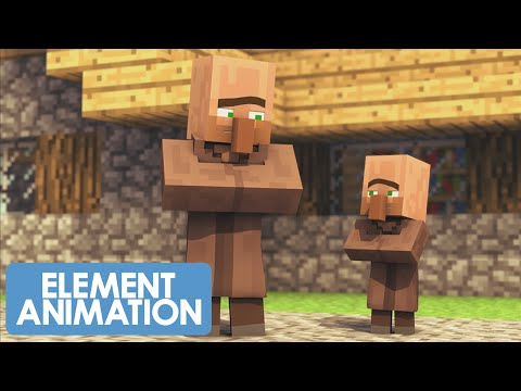 villager news 1 element animation the crack
