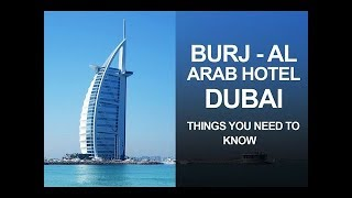 World's Most Luxurious 7* Hotel - Burj Al Arab Dubai [ LUXURY HOTEL ]