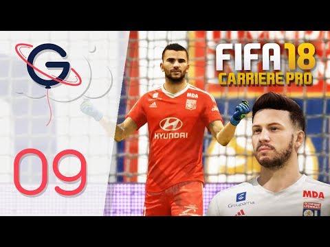 FIFA 18 : CARRIÈRE PRO FR #9 - Le mur lyonnais !