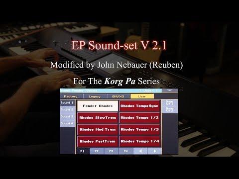 Free Electric Piano Sound set V 2 1 - Korg Pa4x
