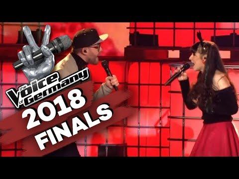 Mark Forster - Einmal (Jessica Schaffler & Mark Forster)   The Voice of Germany   Finale