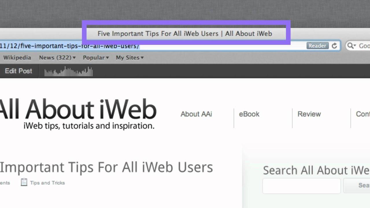 iweb seo tool