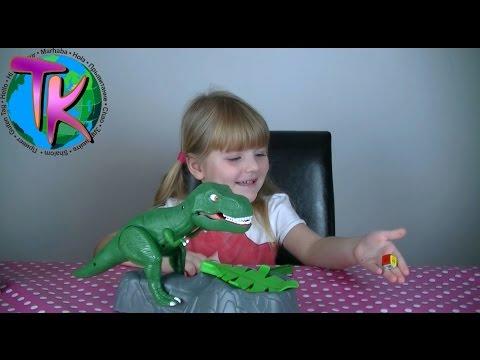 Настольная игра Парк юрского периода Динозавр Рекс Dino Meal by Goliath Games