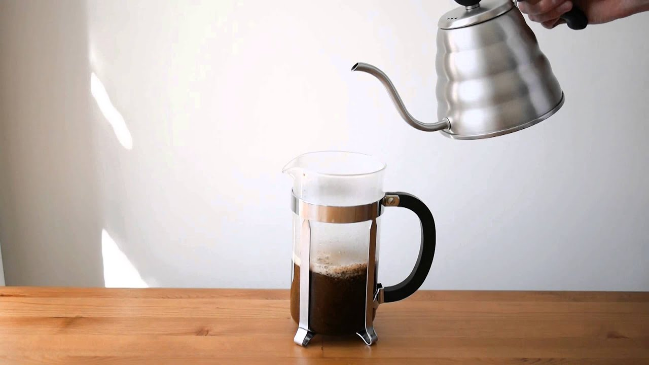 Kaffeezubereitung French Press Tutorial How To Make Perfect French Press Coffee At Home
