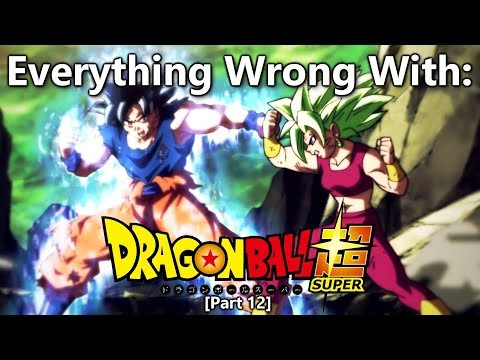 Everything Wrong With: Dragon Ball Super   Part 12   Eps 111-120