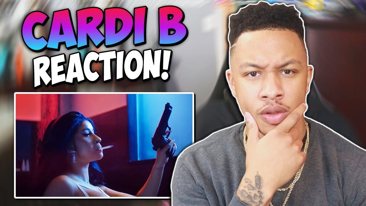Cardi B Press Official Music Video Reaction Video Youtube
