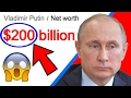 Vladimir Putin is SO RICH!