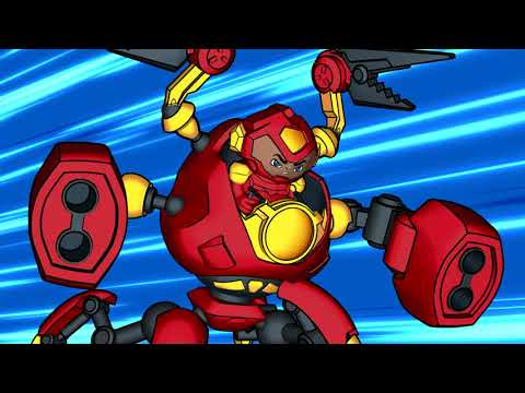 Ready2Robot | Batalla De Robots Con Slime | Episodio 5: Hardware Vs. Wedgie