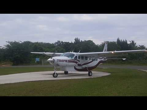 Tropic Air Takeoff And Landing Placencia