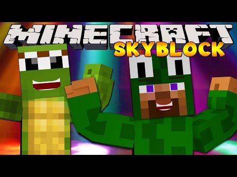Minecraft Skyblock  : PARTY ON THE ISLAND!