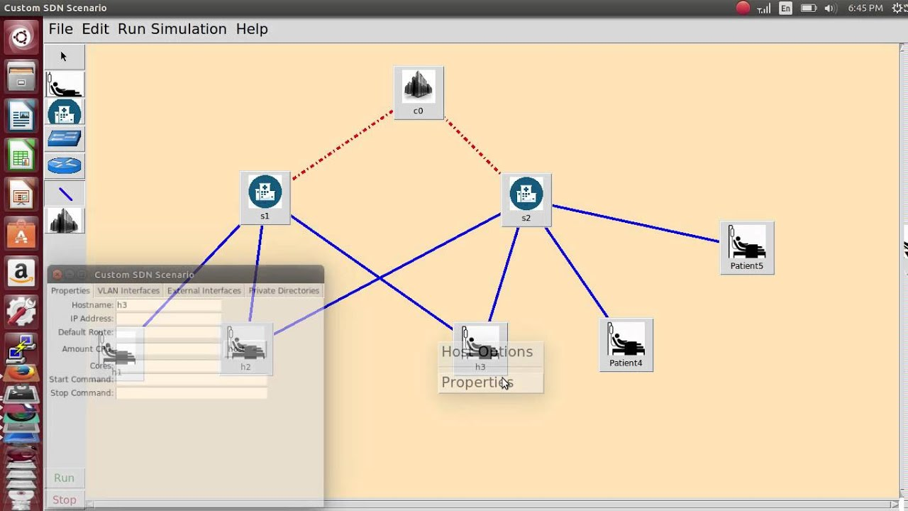 Software defined networking sdn using mininet and custom python software defined networking sdn using mininet and custom python script youtube baditri Images
