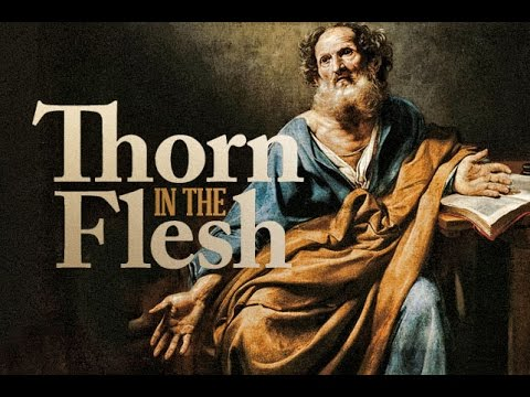 Reformed Theology What Is Your Thorn?  Calvinism