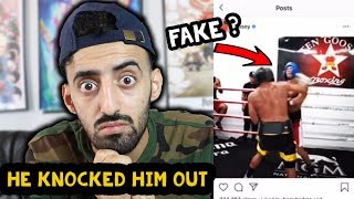 Reacting to Fousey Knocking Out Alex Wassabi