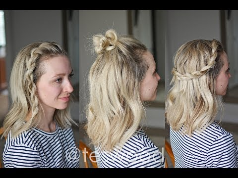 GIVEAWAY \u0026 5 Quick Styles for Short Hair