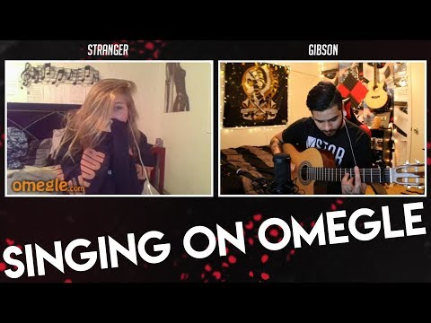 SINGING ON OMEGLE! - I MADE HER CRY