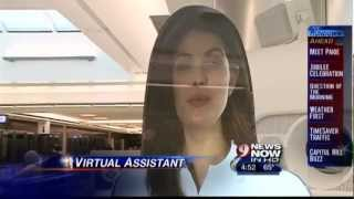Meet Paige: Hologram Virtual Assistant at Dulles International Airport