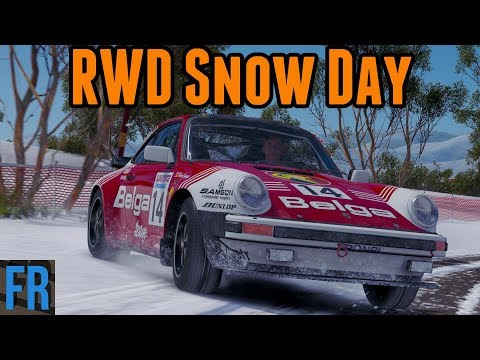FailRace Vs The Community - RWD Snow Day