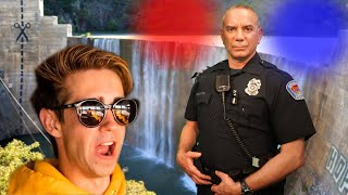 We Almost Got Arrested For This! (Police Encounter)