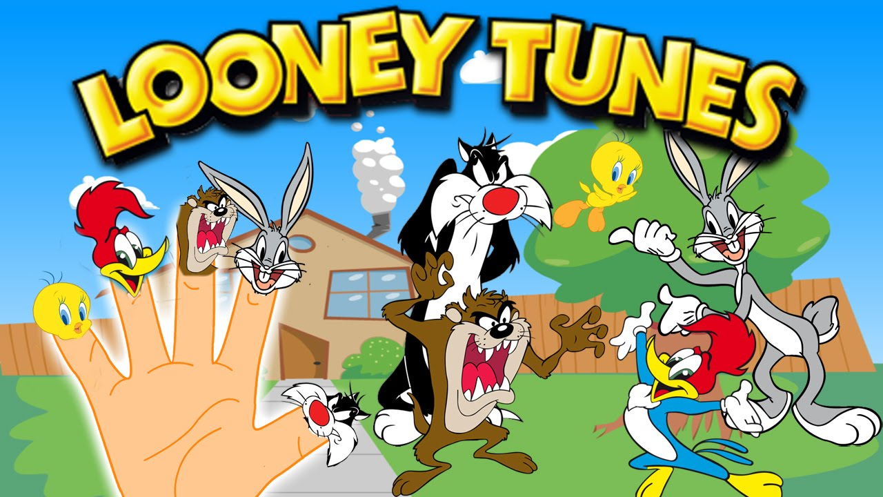Finger Family Song Of Looney Tunes