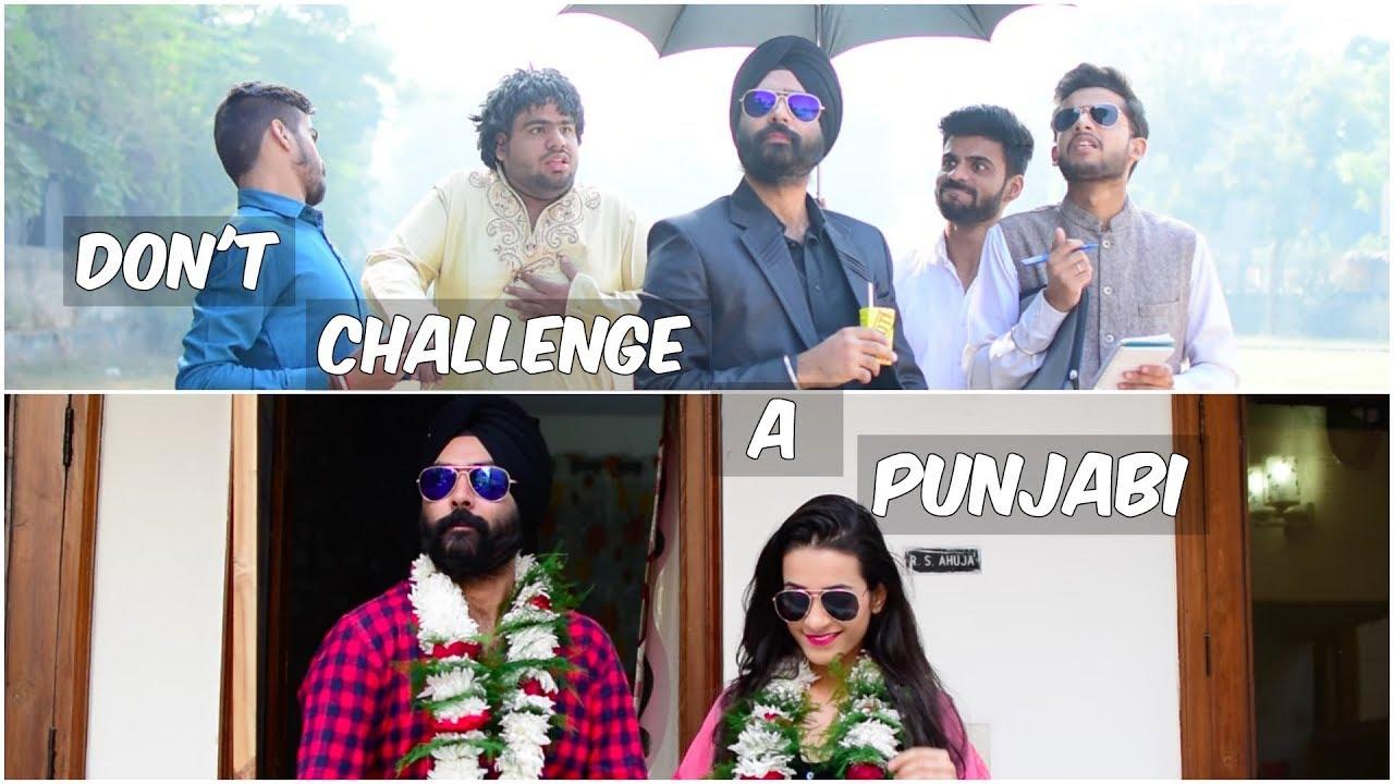 Don't Challenge a Punjabi   Harshdeep Ahuja - YouTube