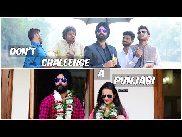 Don't Challenge a Punjabi | Harshdeep Ahuja