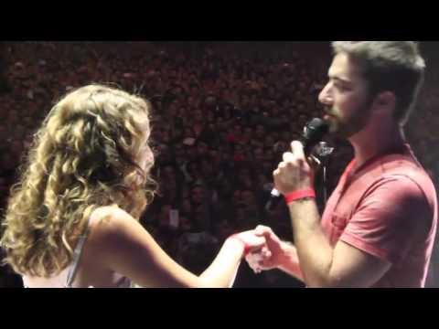 Видео: Сделал предложение во время концерта Свадебное вдохновение