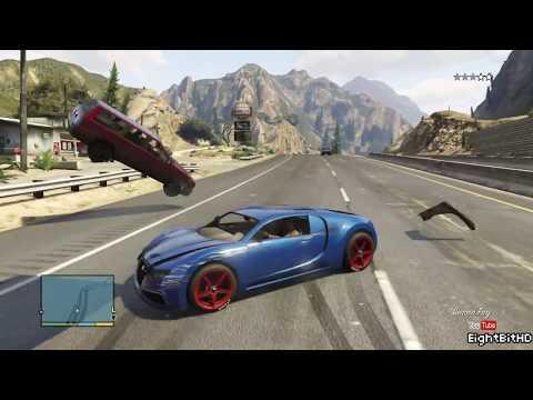 GTA 5 100 Tons Super Car Rampage #3 HD Grand Theft Auto 5