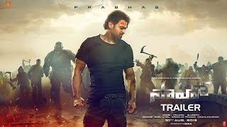 Saaho Teaser Download, Saaho Trailer, Saaho Movie Theatrical Trailer