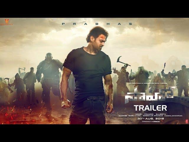 సాహో ట్రైలెర్ వీడియో-Prabhas Saaho Trailer Video Is Out