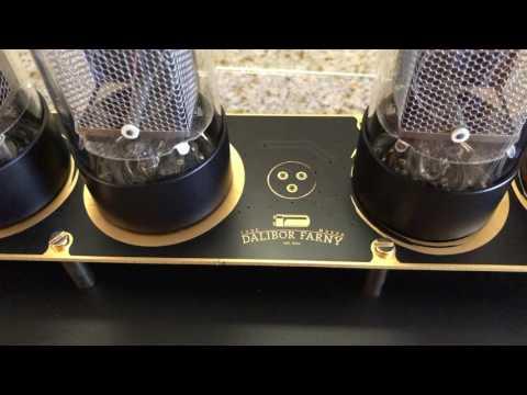 NIXIE Tube Clock Unboxing & Overview | Dalibor Farny's Zen Clock | R|Z568M