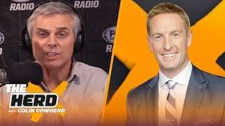 Joel Klatt compares Burrow to Joe Montana, talks Tua, Justin Herbert, NFL Draft & more | THE HERD