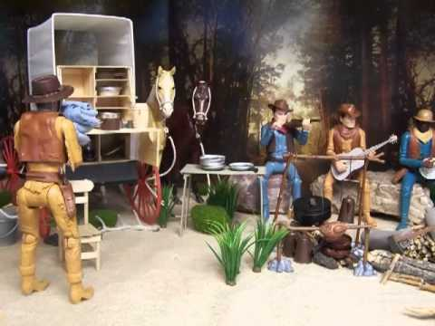 12 Inch Action Figure Theater Johnny West And The