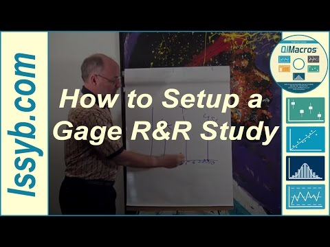 How to Setup a Gage R&R Study