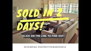 Sold Bedok Res Blk141 5rm HDB in 2 days above valuation with Property Makeove District 16 #Nicknrina