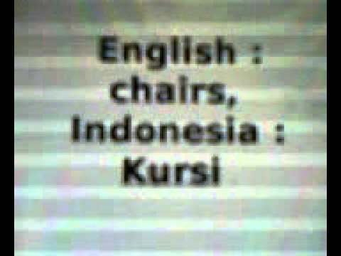 Learning English - Indonesian: HOME - with voice