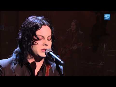 """Jack White performs """"Mother Nature's Son"""" 