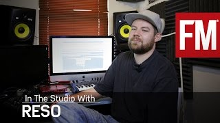 Reso creating breaks In The Studio With Future Music