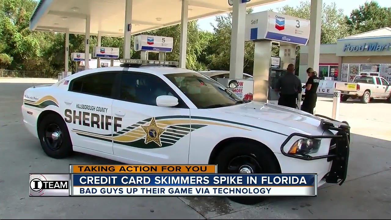 New technology gives credit card skimmers an edge as they spike in Florida
